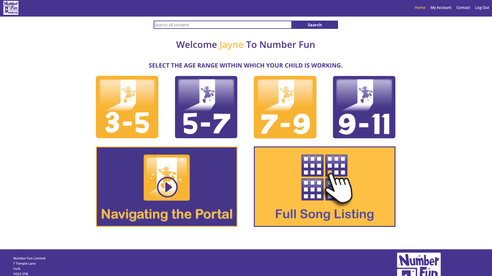 Parents Welcome Parent Number Fun Portal